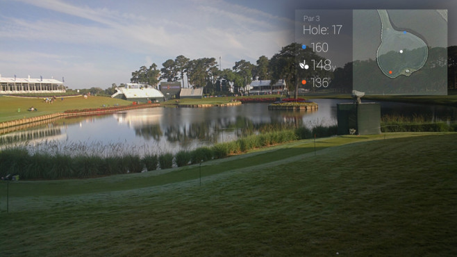 GolfSight-App © Paul Goldstein , Google