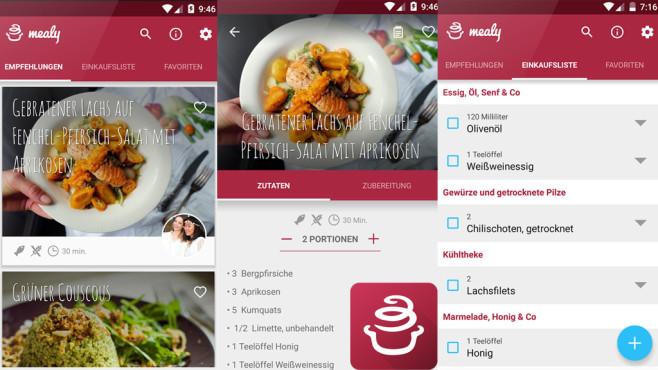 Mealy – Food-Blogger-Rezepte einfach nachkochen und bestellen ©netztronauten UG