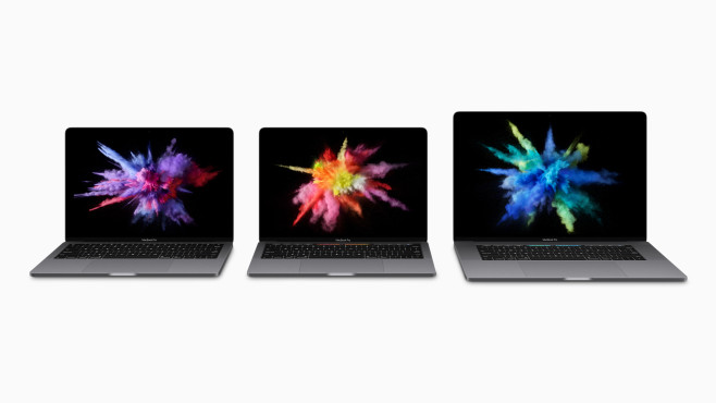 MacBook-Pro-Familie © Apple