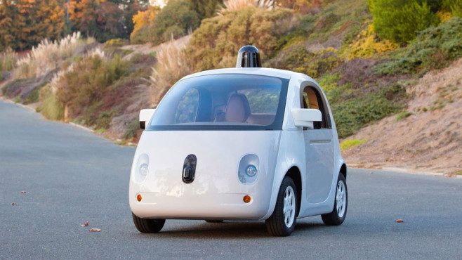 Google Self-Driving Car © Google