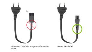 Nur Stromkabel betroffen ©Microsoft, COMPUTER BILD