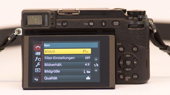 Panasonic Lumix GX80 ©COMPUTER BILD