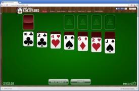 Screenshot 1 - Solitaire kostenlos online spielen