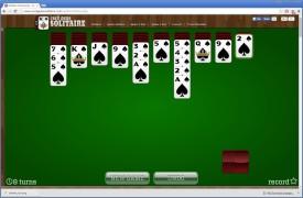 Screenshot 3 - Solitaire kostenlos online spielen
