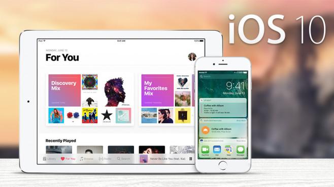 iOS 10 ©Apple, COMPUTER BILD