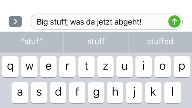 iOS 10: Neuerungen ©COMPUTER BILD
