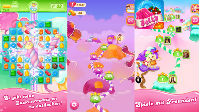 Candy Crush Jelly Saga © King