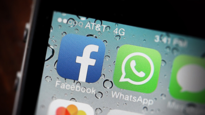WhatsApp und Facebook verschmelzen? © Justin Sullivan /getty images