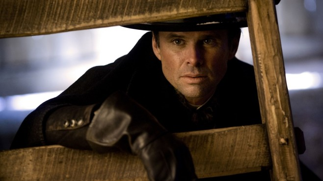 Szene aus The Hateful Eight: Walton Goggins © Universum Film GmbH
