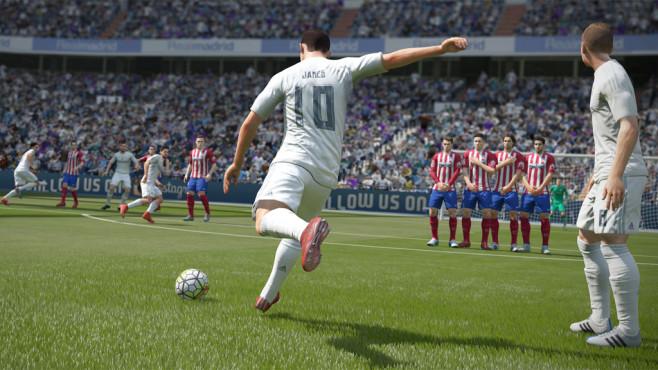 FIFA 16: Schuss ©EA
