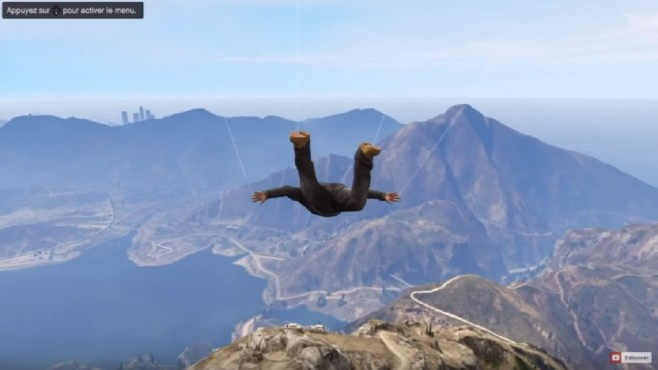 GTA 5: Großartige Stunts © Youtube