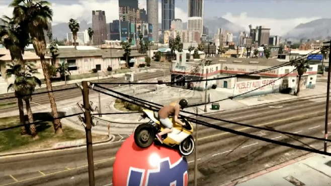 GTA 5 Stunts © Youtube