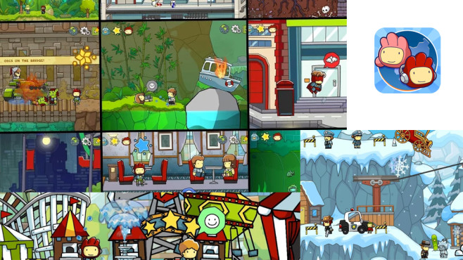 Scribblenauts Unlimited © Warner Bros.