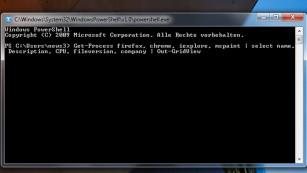 Windows 7/8/10: Auslastung einzelner Programme beobachten Das Aussehen der PowerShell unterscheidet sich unter Windows 7 und 8/10. Dennoch funktioniert derselbe Kniff. ©COMPUTER BILD