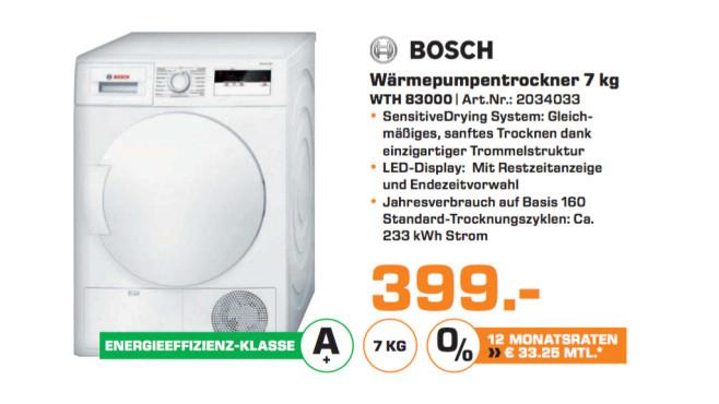 Bosch WTH83000 ©Saturn