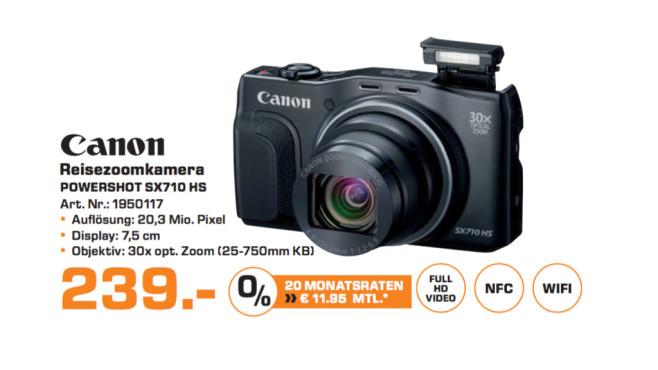 Canon PowerShot SX710 HS ©Saturn
