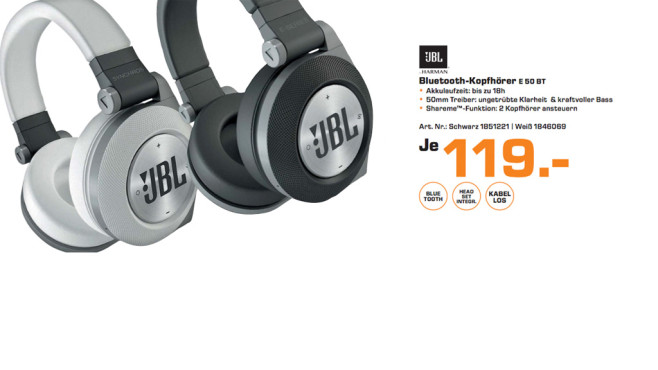 JBL Synchros E50BT ©Saturn