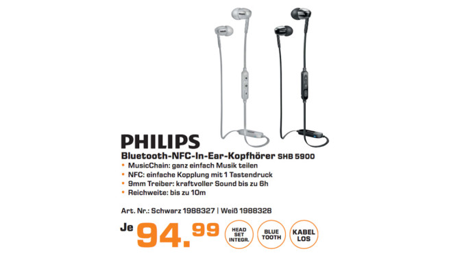 Philips SHB5900 © Saturn