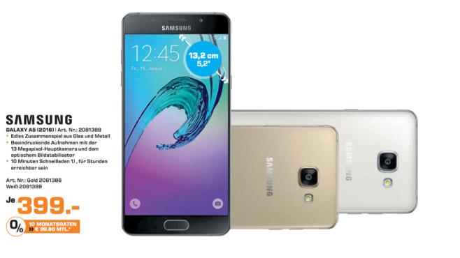 Samsung Galaxy A5 (2016) ©Saturn
