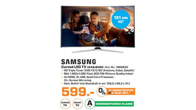 Samsung UE48J6350 ©Saturn