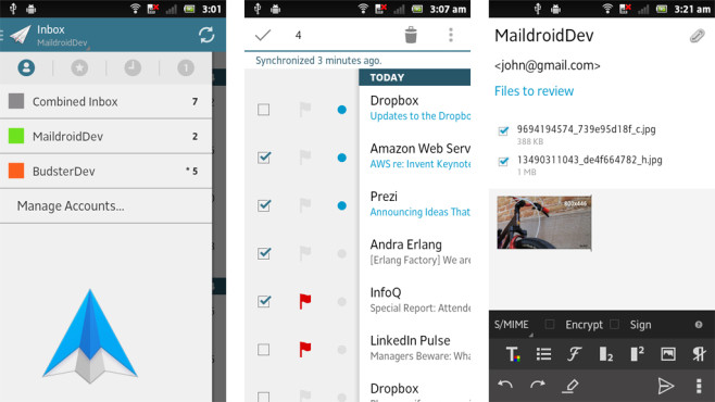 MailDroid © Flipdog Solutions, LLC