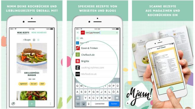 Mjum – meine Rezepte, mein Kochbuch ©G+J Digital Products GmbH