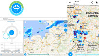 Rain Today – HD Regenradar © MeteoGroup