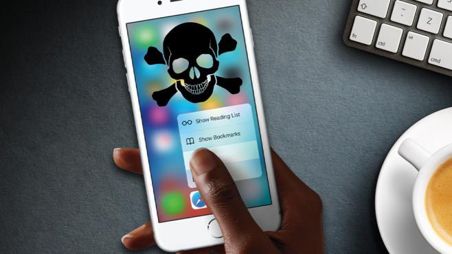 Die schlimmste Webseite für iPhones ©COMPUTER BILD