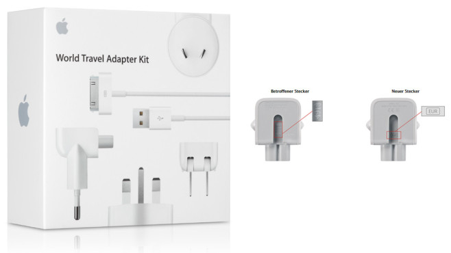 Apple Travel Kit © Apple