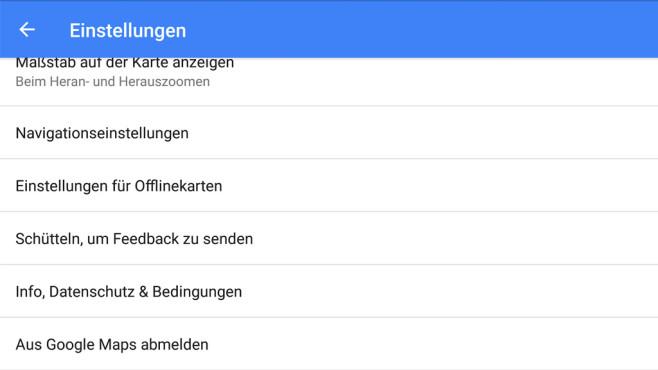 Google Maps inkognito nutzen ©Google
