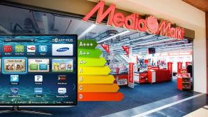 Stromsparlüge: TVs bei Media Markt & Co. ©MediaMarkt, Samsung, Image-Fotolia.com