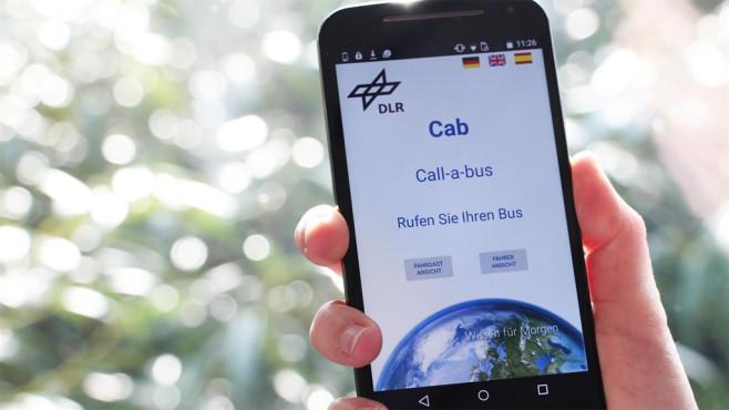 Call-a-Bus-App des DLR ©DLR
