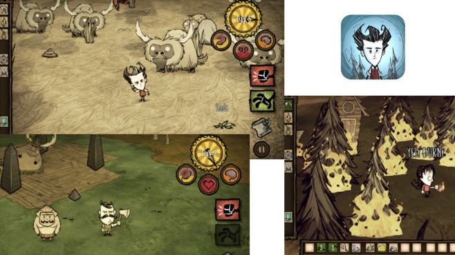 Don't Starve: Pocket Edition © Klei Entertainment