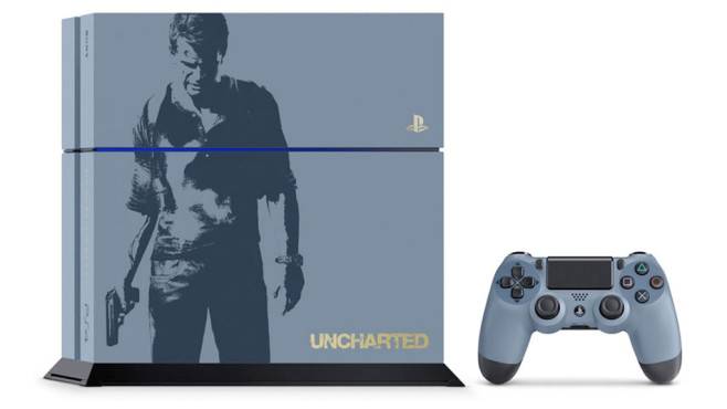 Uncharted 4: PS4-Bundle © Sony