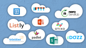 10 geniale Cloud-Dienste © Microsoft, Otixo Inc., IFTTT, Tricider, Listly, Nero, Do�zz, Padlet, Catalina Group,