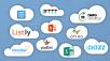 10 geniale Cloud-Dienste ©Microsoft, Otixo Inc., IFTTT, Tricider, Listly, Nero, Do�zz, Padlet, Catalina Group,