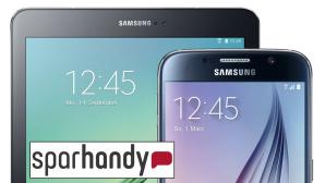 Schn�ppchen: Galaxy S6 und Tab S2 mit Allnet-Flat ©Samsung, Sparhandy