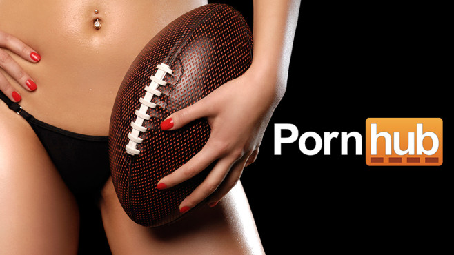 PornHub Super Bowl 2016 © PornHub, Oleksiy Maksymenko/ getty images