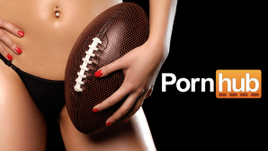 PornHub Super Bowl 2016 ©PornHub, Oleksiy Maksymenko/ getty images