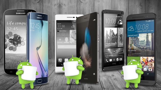 Kein Update: Alternativen für Smartphones von Gestern©Samsung, Huawei, HTC, bombybamby-Fotolia.com