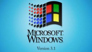Windows 3.1: Logo ©Microsoft