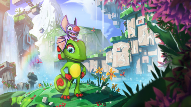 Yooka-Laylee © Playtonic Games