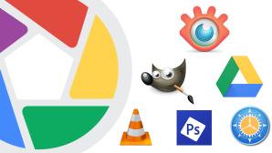 Picasa-Logo ©Google, IrfanView, GIMP, VLC, Adobe, freeCommander