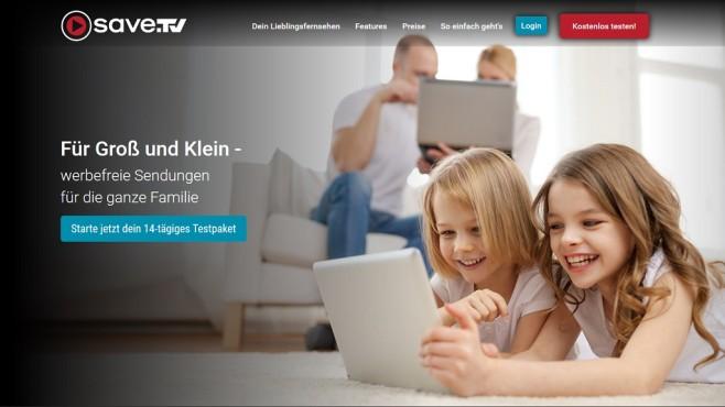 Screenshot Save.TV-Website ©Save.TV