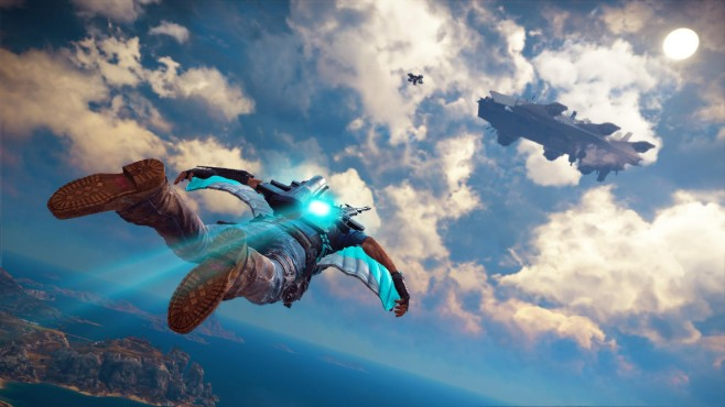 Just Cause 3 Sky Fortress Scree ©Square Enix