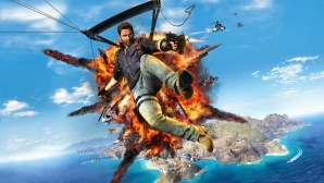 Just Cause 3 Sky Fortress Scree © Square Enix