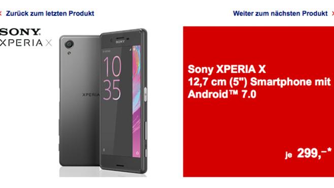 Sony Xperia X im Test: 299€ – wie gut ist das Aldi-Angebot? Ab dem 22. Juni ist das Sony Xperia X bei Aldi Süd im Angebot – für gute 299 Euro! ©COMPUTER BILD