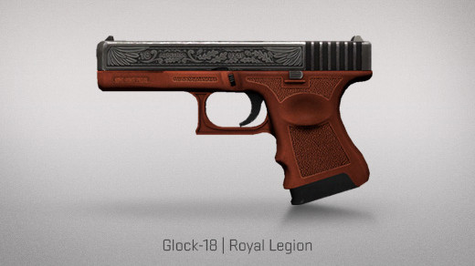 Glock-18 _ Royal Legion © Valve