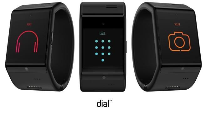 Smartwatch dial ©Telekom