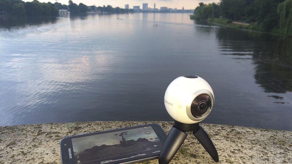 Samsung Gear 360: VR-Kamera im Test ©COMPUTER BILD